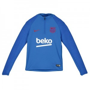Barcelona Strike Training Drill Top - Blue - Kids
