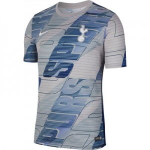 Tottenham Hotspur Pre Match Training Top - Grey