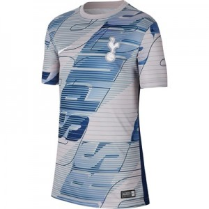 Tottenham Hotspur Pre Match Training Top - Grey - Kids