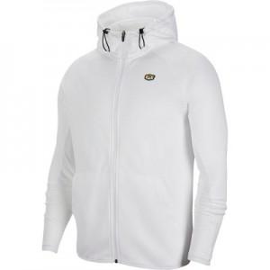 Tottenham Hotspur Full Zip Hoodie - White