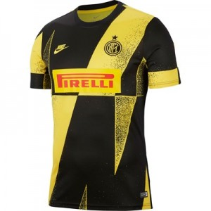 Inter Milan Pre Match Top - Yellow