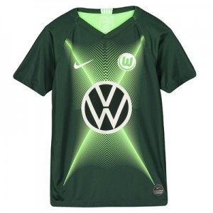 VfL Wolfsburg Home Stadium Shirt 2019-20 - Kids