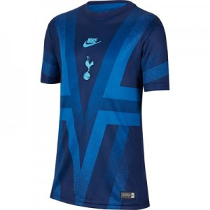 Tottenham Hotspur Pre Match Top - Blue - Kids