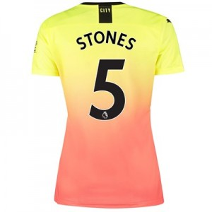 Manchester City Third Shirt 2019-20 - Womens with Stones 5 printing