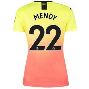 Manchester City Third Shirt 2019-20 - Womens with Mendy 22 printing