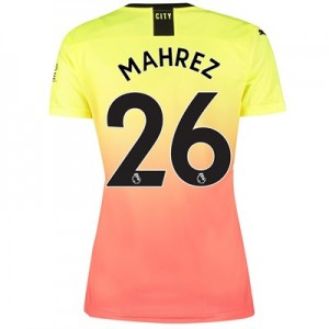Manchester City Third Shirt 2019-20 - Womens with Mahrez 26 printing