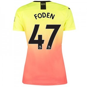 Manchester City Third Shirt 2019-20 - Womens with Foden 47 printing