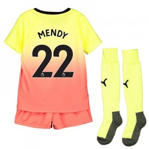 Manchester City Third Mini Kit 2019-20 with Mendy 22 printing