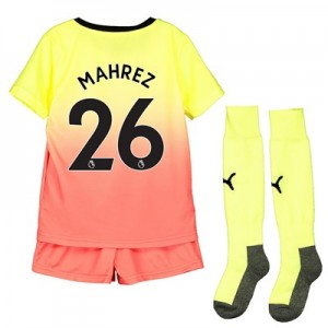 Manchester City Third Mini Kit 2019-20 with Mahrez 26 printing