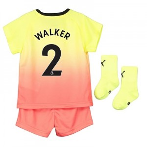 Manchester City Third Baby Kit 2019-20 with Walker 2 printing