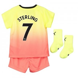 Manchester City Third Baby Kit 2019-20 with Sterling 7 printing