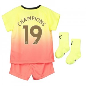 Manchester City Third Baby Kit 2019-20 with Champions 19 printing
