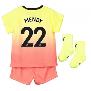 Manchester City Third Baby Kit 2019-20 with Mendy 22 printing