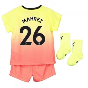 Manchester City Third Baby Kit 2019-20 with Mahrez 26 printing