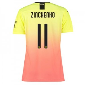 Manchester City Authentic Cup Third Shirt 2019-20 - Womens with Zinchenko 11 printing