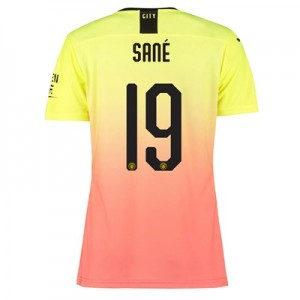 Manchester City Authentic Cup Third Shirt 2019-20 - Womens with Sané 19 printing