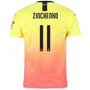 Manchester City Cup Third Shirt 2019-20 with Zinchenko 11 printing