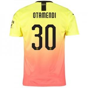 Manchester City Cup Third Shirt 2019-20 with Otamendi 30 printing
