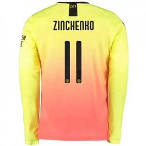 Manchester City Cup Third Shirt 2019-20 - Long Sleeve with Zinchenko 11 printing