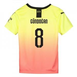Manchester City Cup Third Shirt 2019-20 - Kids with Gündogan 8 printing