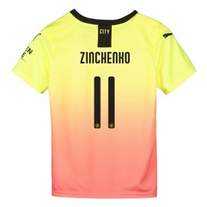 Manchester City Cup Third Shirt 2019-20 - Kids with Zinchenko 11 printing