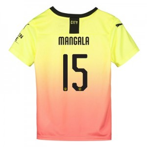 Manchester City Cup Third Shirt 2019-20 - Kids with Mangala 15 printing