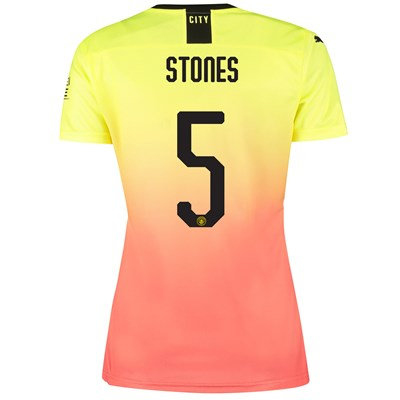 Manchester City Cup Third Shirt 2019-20 - Womens with Stones 5 printing