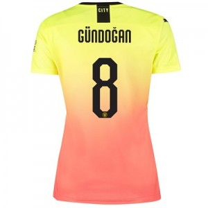 Manchester City Cup Third Shirt 2019-20 - Womens with Gündogan 8 printing