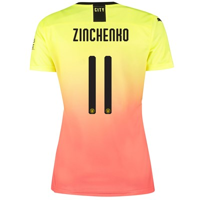 Manchester City Cup Third Shirt 2019-20 - Womens with Zinchenko 11 printing