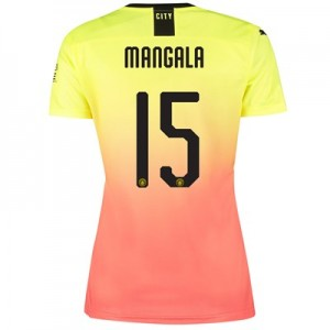 Manchester City Cup Third Shirt 2019-20 - Womens with Mangala 15 printing