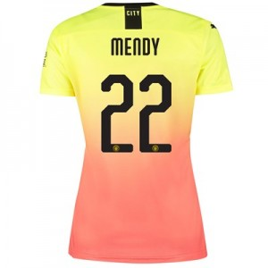 Manchester City Cup Third Shirt 2019-20 - Womens with Mendy 22 printing