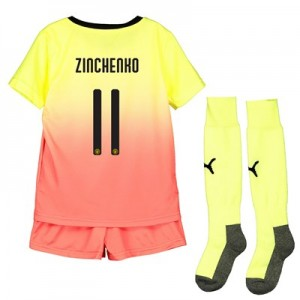 Manchester City Cup Third Mini Kit 2019-20 with Zinchenko 11 printing