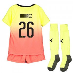 Manchester City Cup Third Mini Kit 2019-20 with Mahrez 26 printing