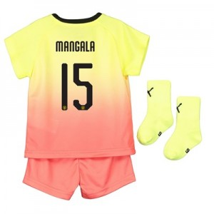 Manchester City Cup Third Baby Kit 2019-20 with Mangala 15 printing