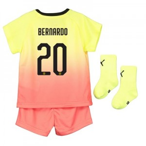 Manchester City Cup Third Baby Kit 2019-20 with Bernardo 20 printing