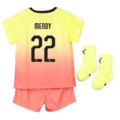Manchester City Cup Third Baby Kit 2019-20 with Mendy 22 printing