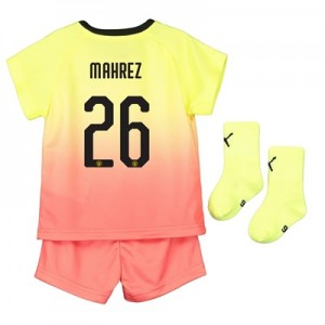 Manchester City Cup Third Baby Kit 2019-20 with Mahrez 26 printing