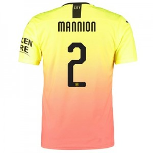 Manchester City Authentic Cup Third Shirt 2019-20 with Mannion 2 printing
