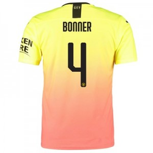 Manchester City Authentic Cup Third Shirt 2019-20 with Bonner 4 printing