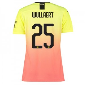 Manchester City Authentic Cup Third Shirt 2019-20 - Womens with Wullaert 25 printing