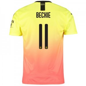 Manchester City Cup Third Shirt 2019-20 with Beckie 11 printing