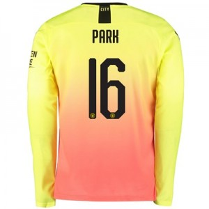 Manchester City Cup Third Shirt 2019-20 - Long Sleeve with Park 16 printing