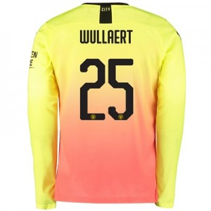 Manchester City Cup Third Shirt 2019-20 - Long Sleeve with Wullaert 25 printing