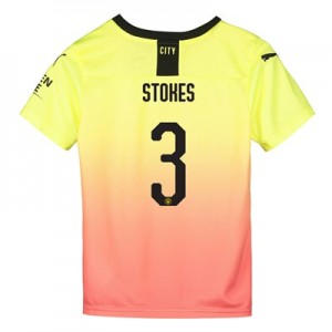 Manchester City Cup Third Shirt 2019-20 - Kids with Stokes 3 printing