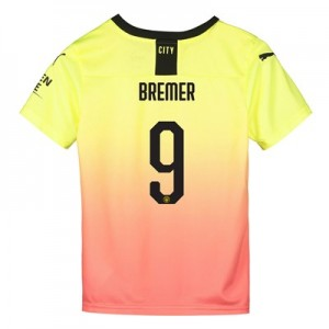 Manchester City Cup Third Shirt 2019-20 - Kids with Bremer 9 printing