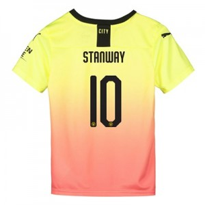 Manchester City Cup Third Shirt 2019-20 - Kids with Stanway 10 printing