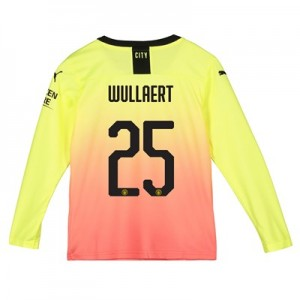 Manchester City Cup Third Shirt 2019-20 - Long Sleeve - Kids with Wullaert 25 printing