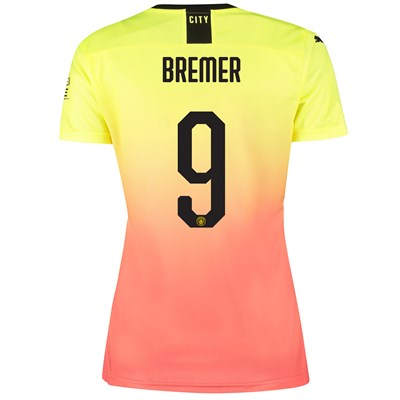 Manchester City Cup Third Shirt 2019-20 - Womens with Bremer 9 printing