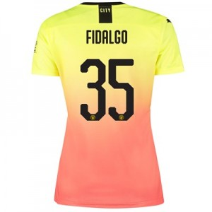 Manchester City Cup Third Shirt 2019-20 - Womens with Fidalgo 35 printing