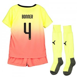Manchester City Cup Third Mini Kit 2019-20 with Bonner 4 printing